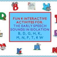 40% off! Grab Our Interactive Early Speech Sounds Document Today!