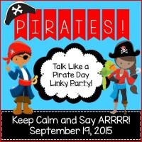 Talk Like a Pirate Day Linky Party!
