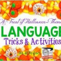 A Treat Of Halloween-Themed Language Tricks & Activities