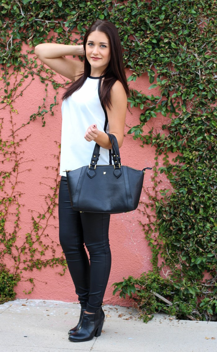 Lovely in Leather by Twinspiration: http://twinspiration.co/lovely-in-leather/