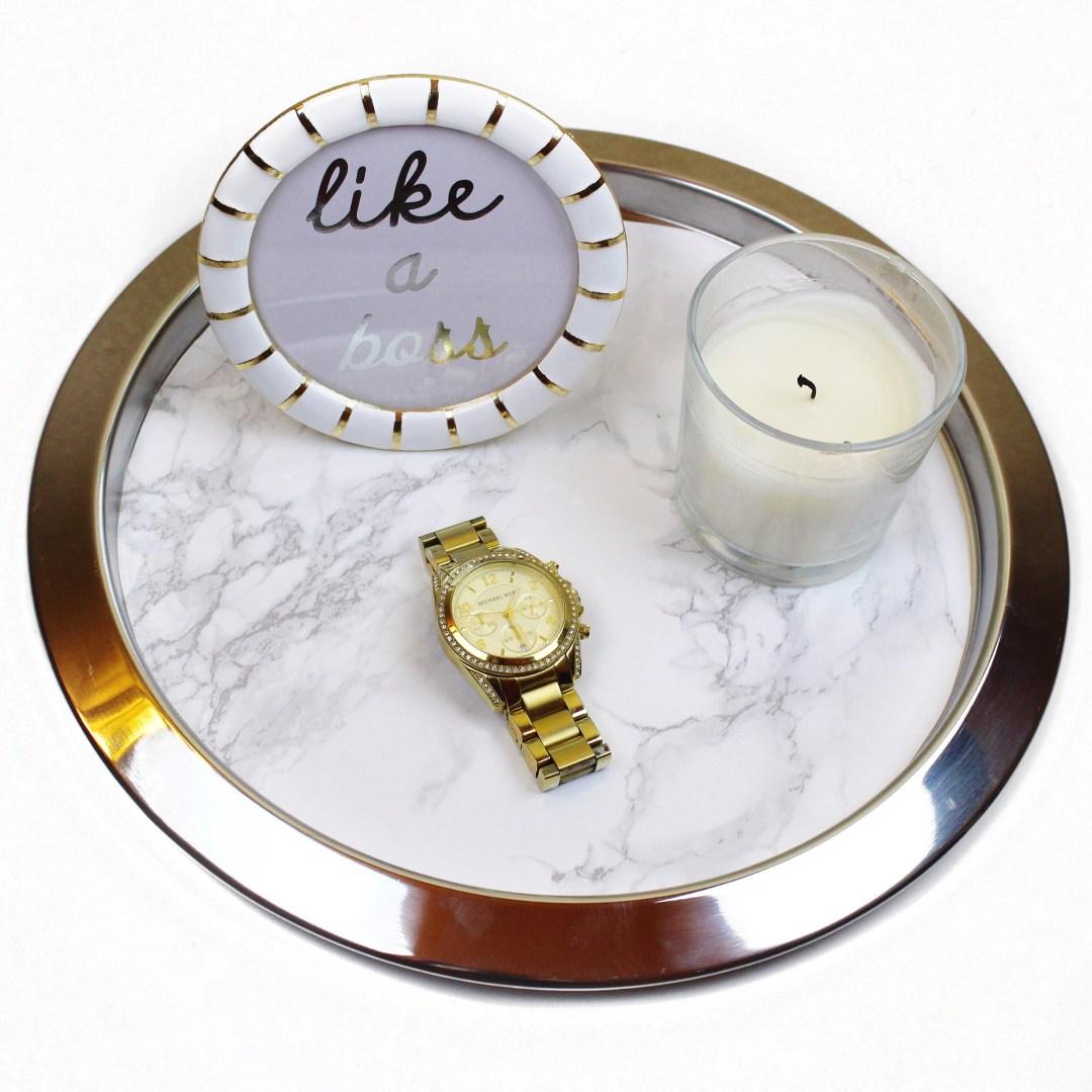 IKEA Hack: Marble Tray
