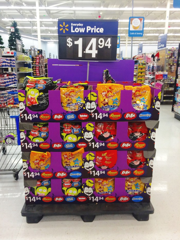 Hershey Halloween Candy at Walmart