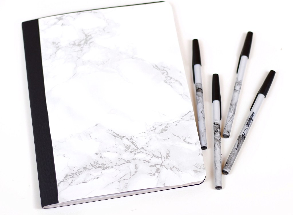 DIY Marble Office Supplies [Video] by Twinspiration