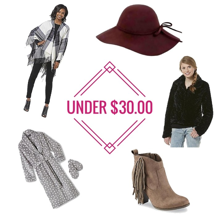 SearsStyle: Gifts Under $30.00