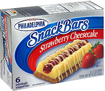 Philadelphia Strawberry Cheesecake Snack Bars