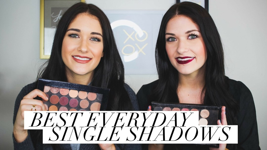 Best Everyday Single Eyeshadows by Twinspiration
