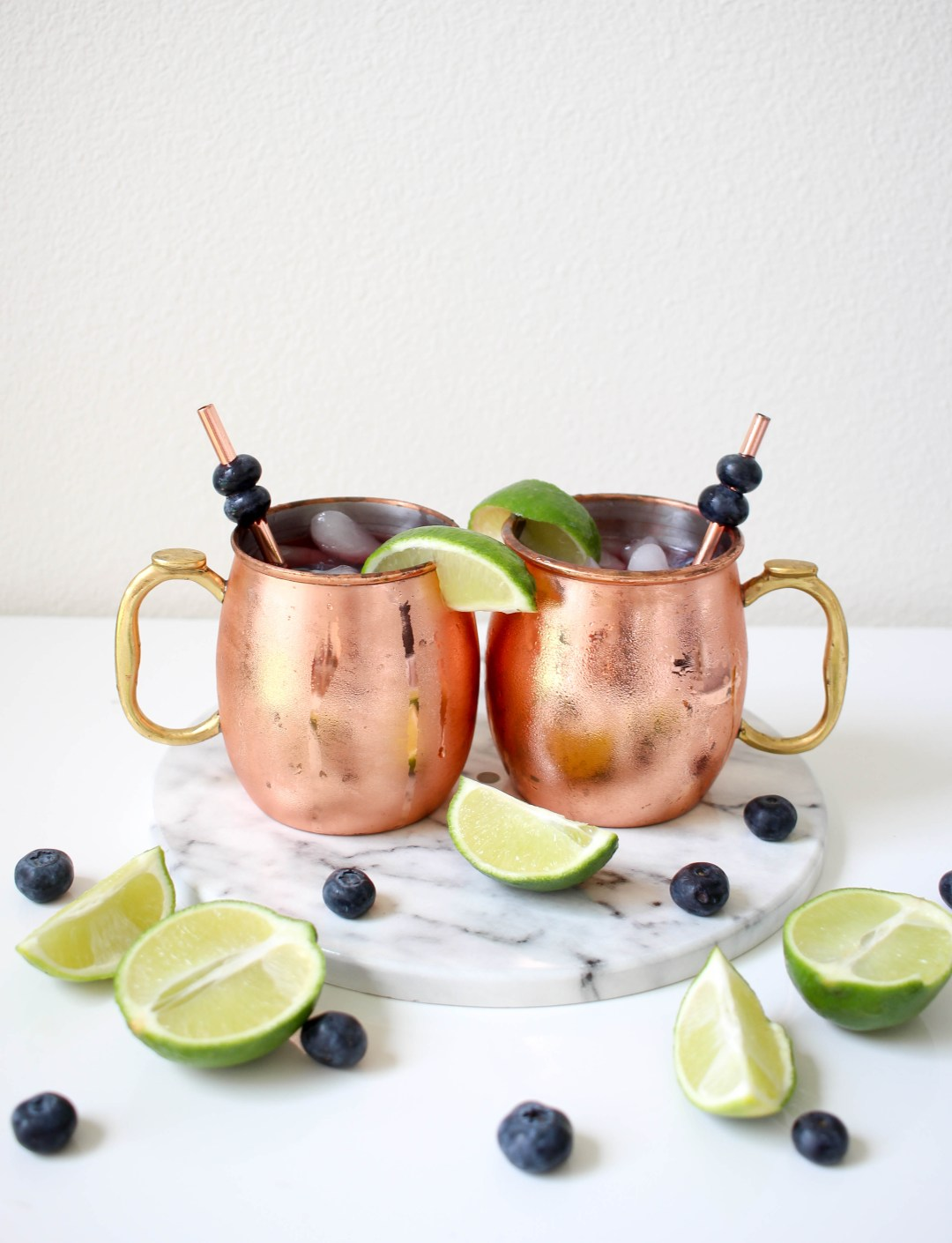 Berry Moscow Mule | Twinspiration