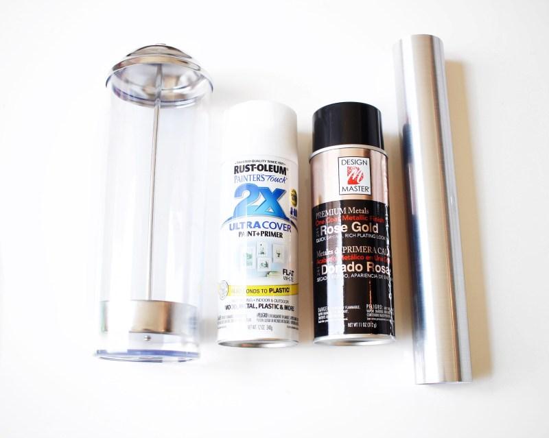 DIY Makeup Brush Holder   Twinspiration