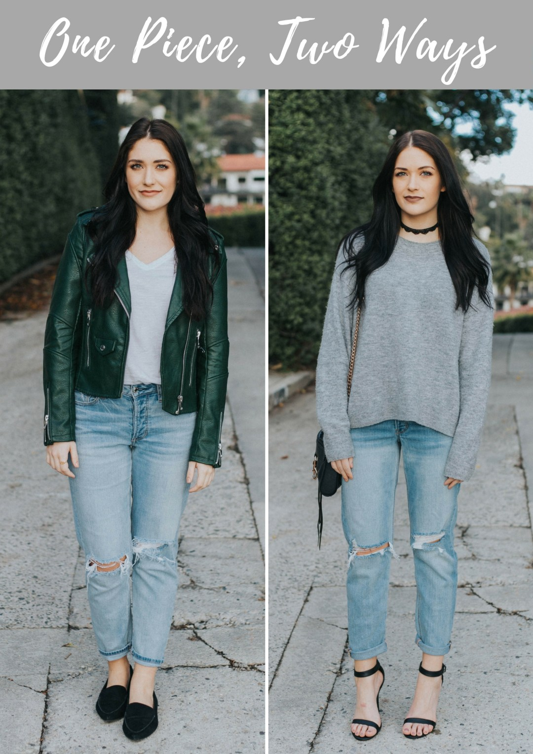 One Piece, Two Ways: Vintage Jeans | Twinspiration