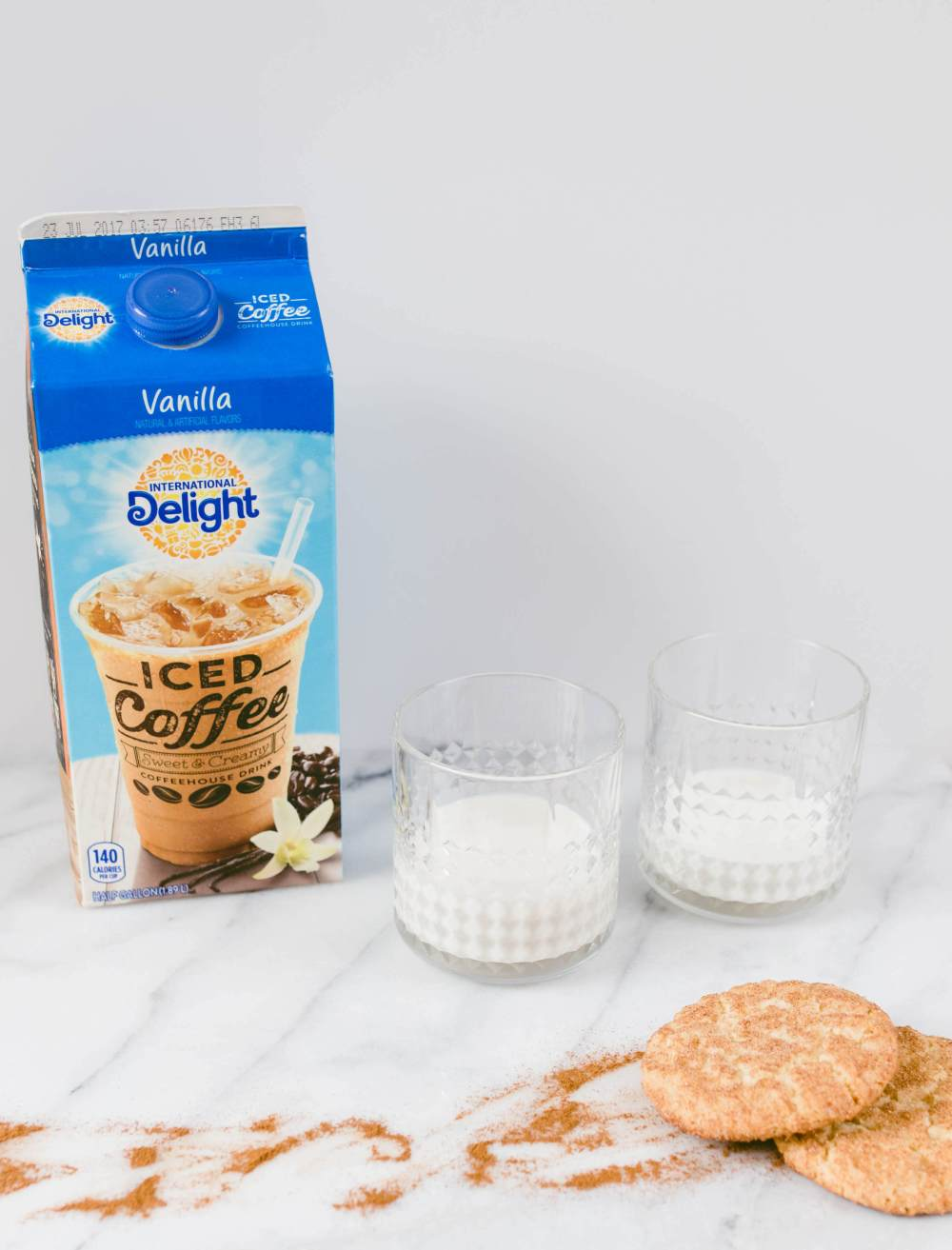 Snickerdoodle Iced Coffee | Twinspiration