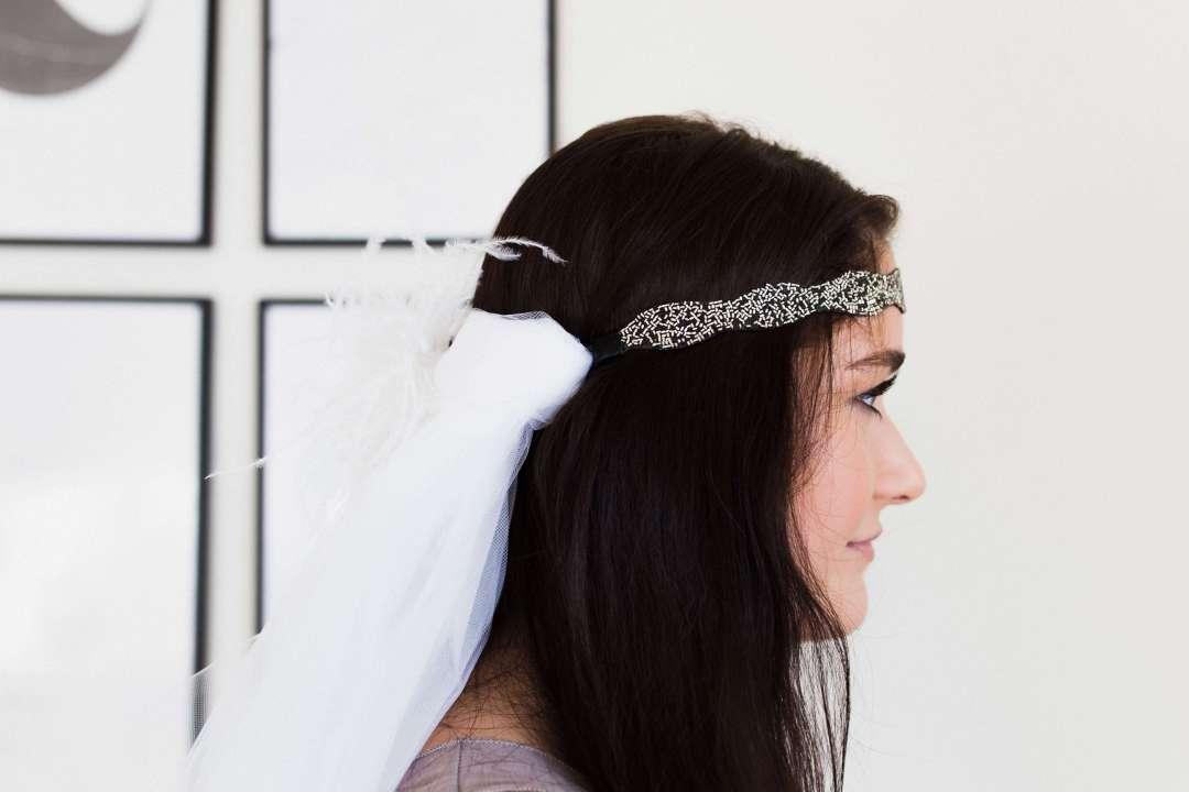 DIY Bachelorette Party Veil | Twinspiration