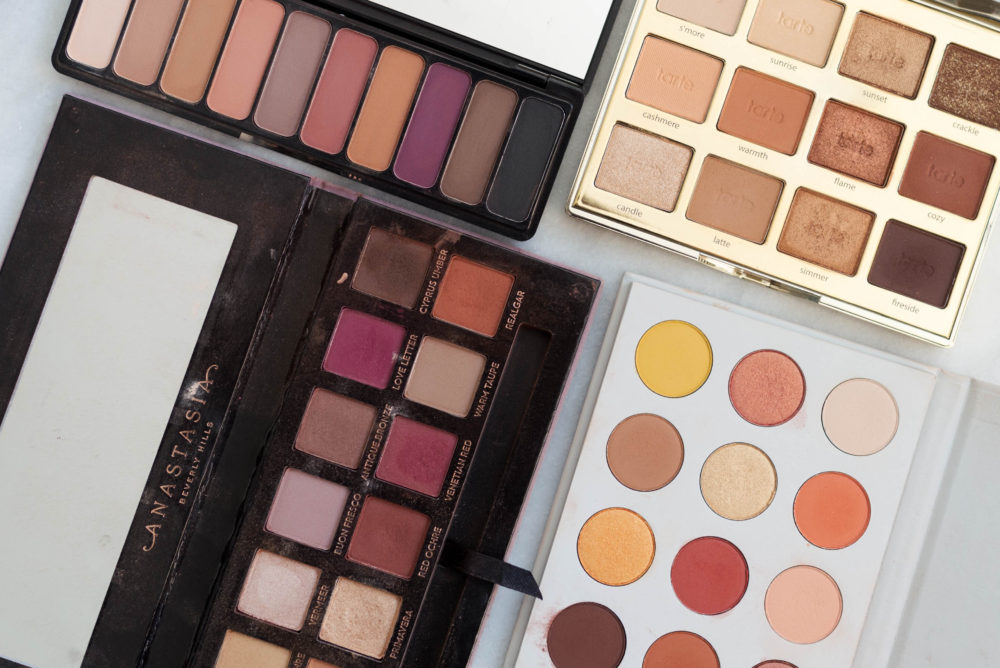 Favorite Warm Toned Eyeshadow Palettes | Twinspiration