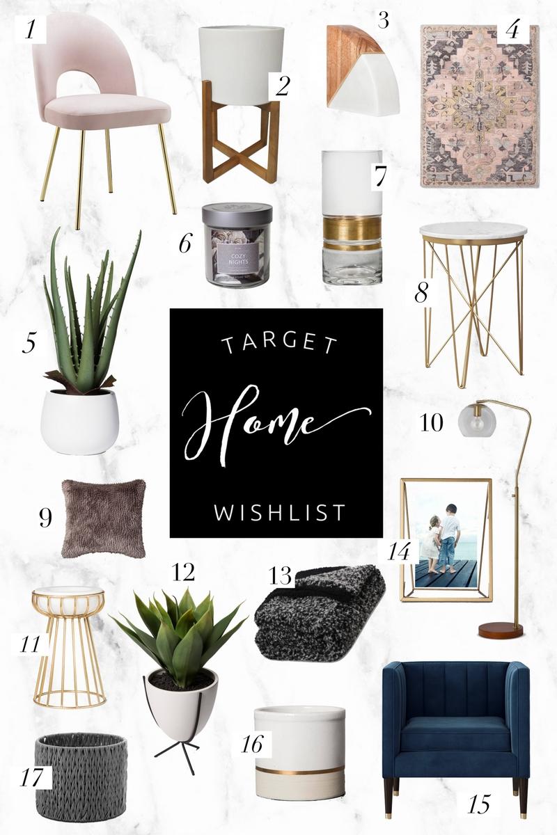 Target Home Wishlist | Twinspiration