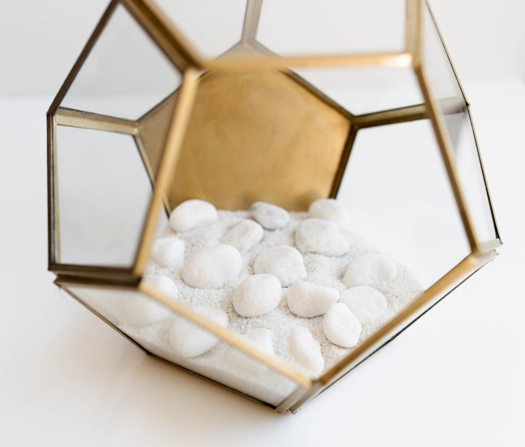DIY Crystal Terrarium | Twinspiration