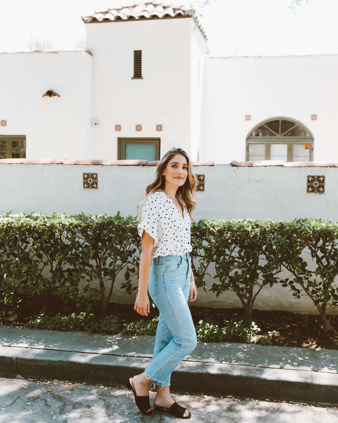 How To Wear Polka Dots | Twinspiration