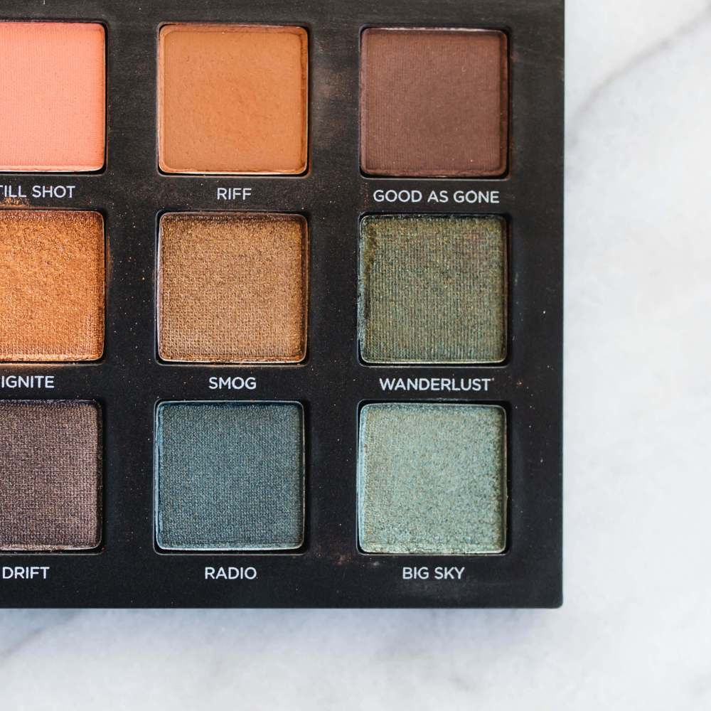 Urban Decay Born to Run Palette Review + Swatches | Twinspiration