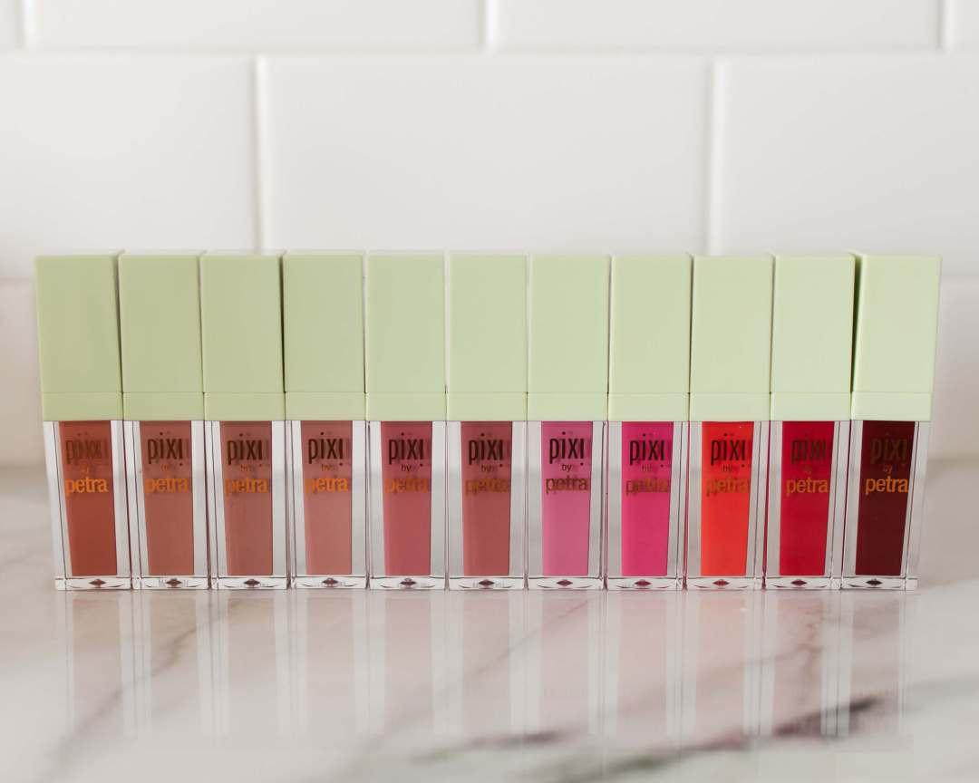 Pixi MatteLast Liquid Lip Review + Swatches | Twinspiration