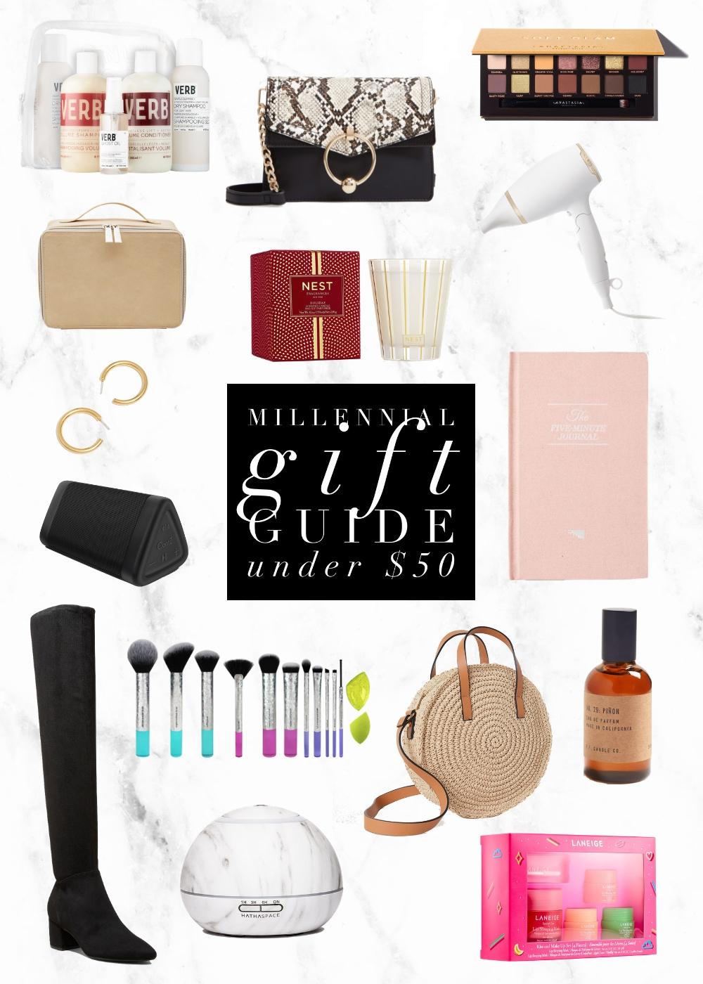 Millennial Gift Guide | Under $50