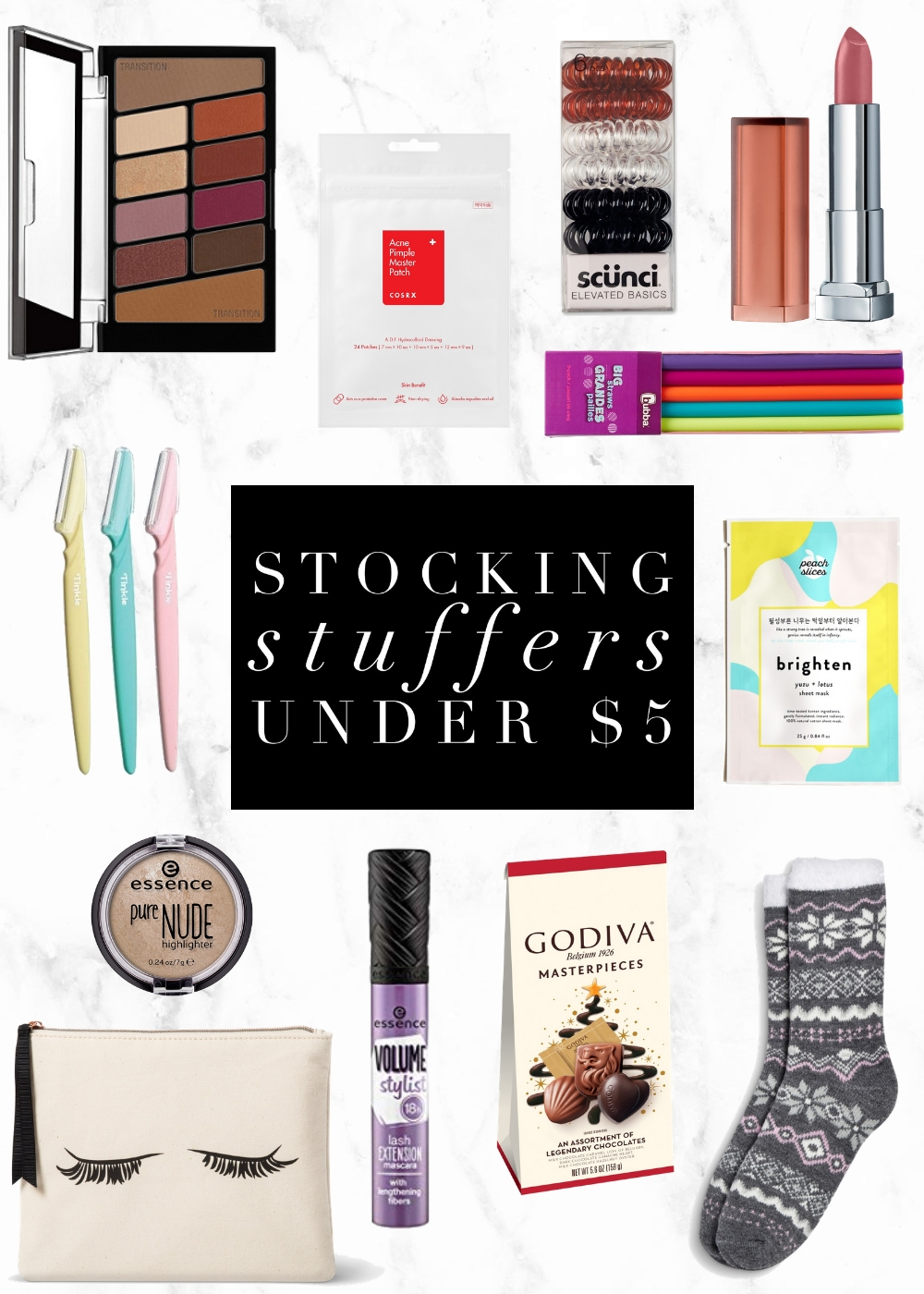 Stocking Stuffers Under $5 | Twinspiration