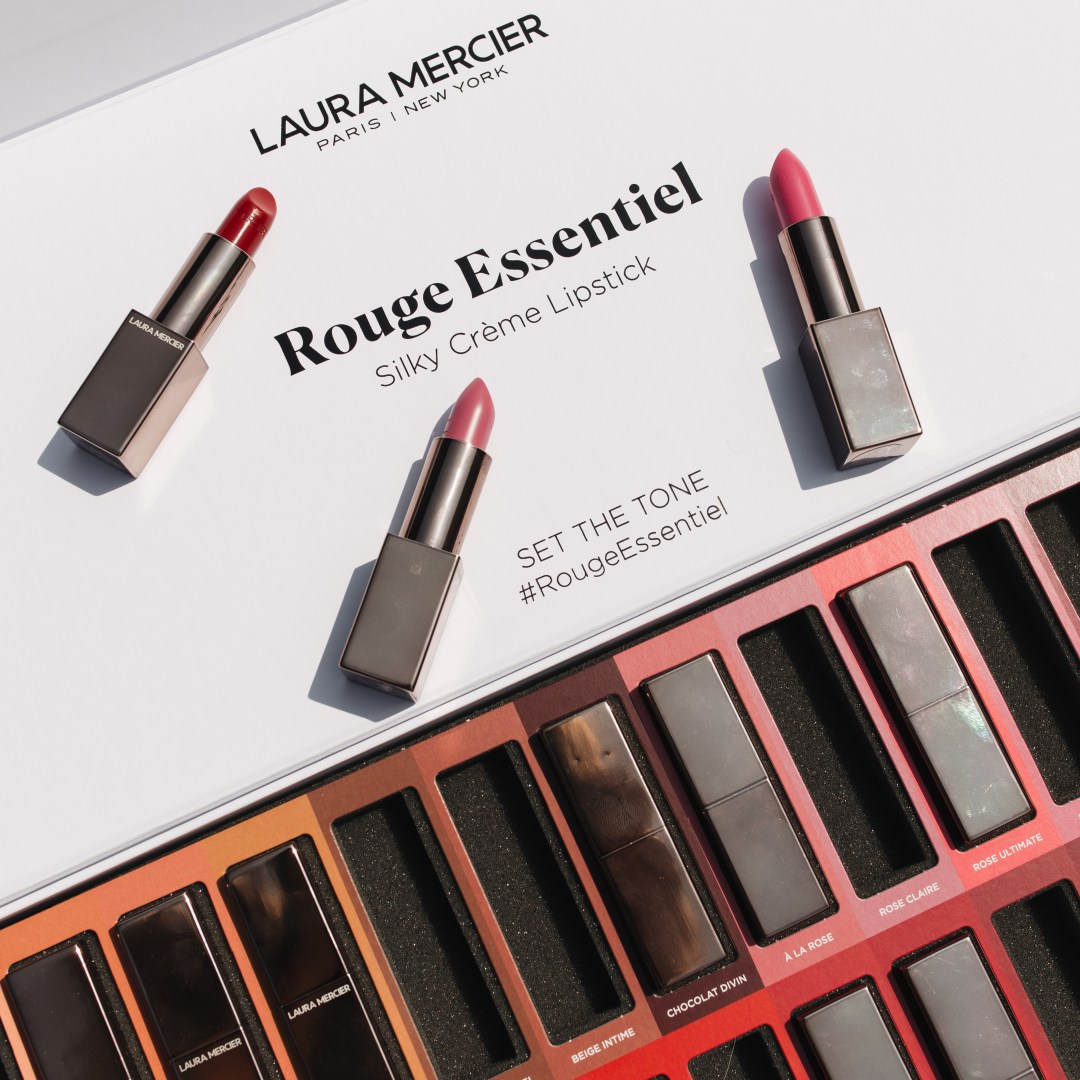 Laura Mercier Rouge Essentiel Lipsticks Review + Swatches | Twinspiration
