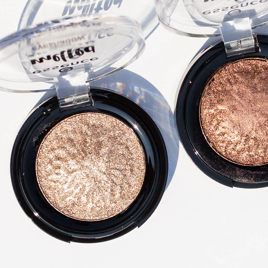 Essence Melted Chrome Eyeshadow Review + Swatches | Twinspiration