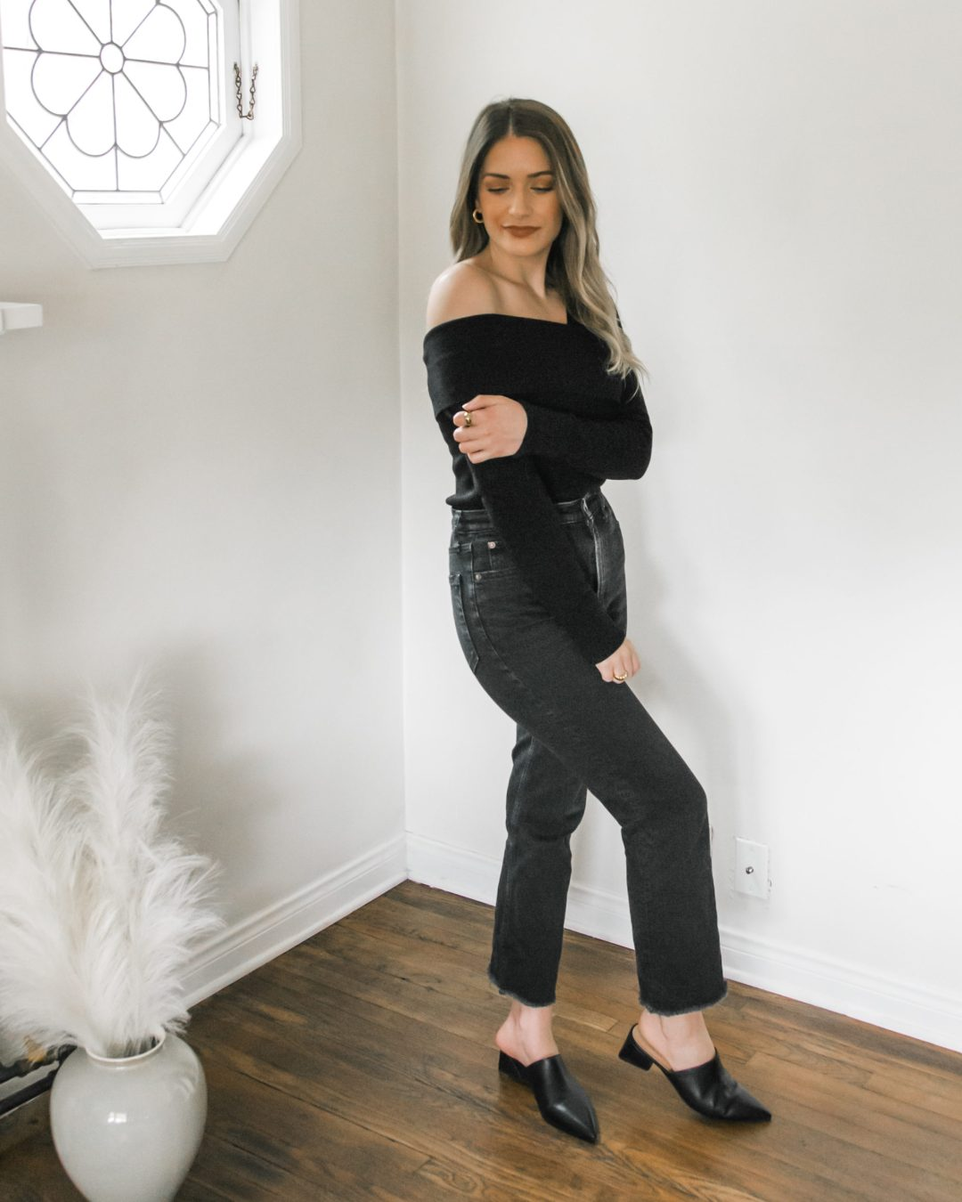 One-Shoulder Sweater Top | Twinspiration