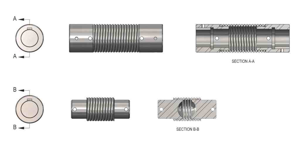 Twin Spring Coupling components
