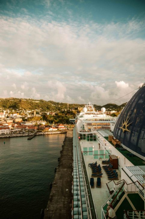 Caribbean cruise aboard the Azura