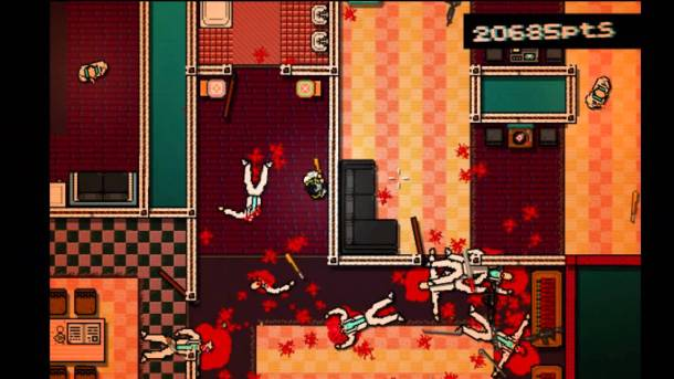 hotline miami blood