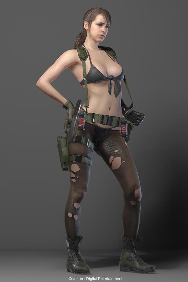 MGSV disgusting character design