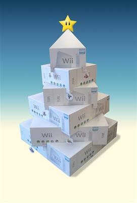 Wii wish you a Merry Christmas! Q4 was always MASSIVE for the Wii.