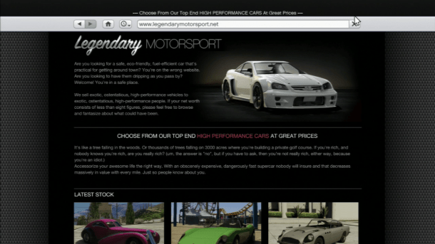 GTA5 - LegendaryMotorSport