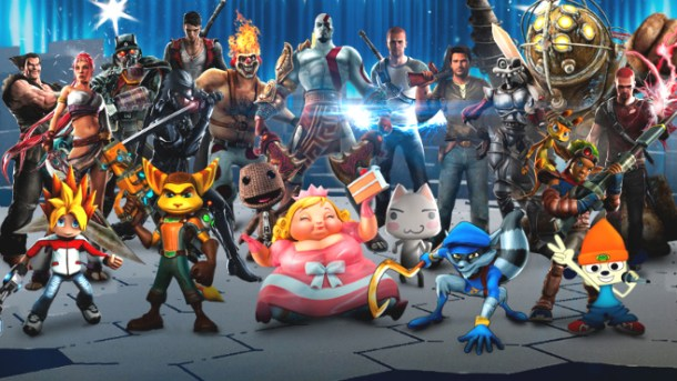 playstation mascots