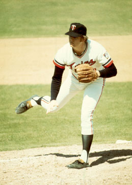 Native Minnesotan Dave Goltz - Twins pitcher from 1972 - 1979