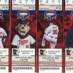 2009 Twins tickets