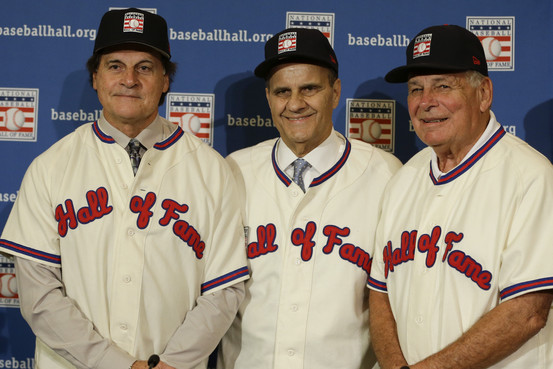 Tony La Russa, Joe Torre and Bobby Cox were unanimously elected to the Baseball Hall of Fame