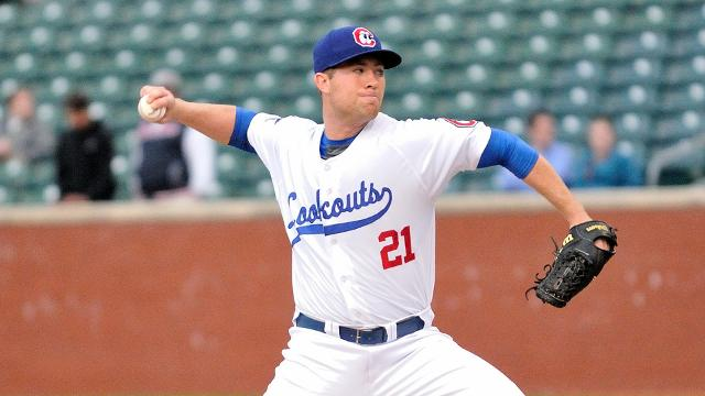 Alex Wimmers - (Credit: Roger Hoover/Tennessee Smokies)