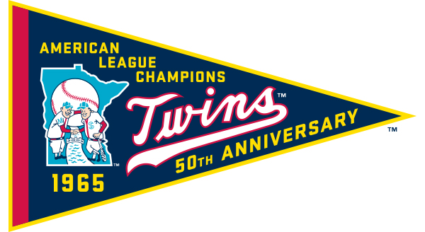 1965 twins 50th anniversary banner