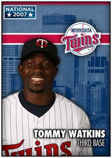 Major League Debuts as Minnesota Twins – Watkins & Miller