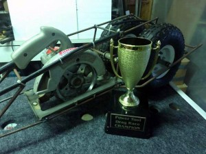 2017 Power Tool Drag Race Champion - Twin Tiers Mini Maker Faire