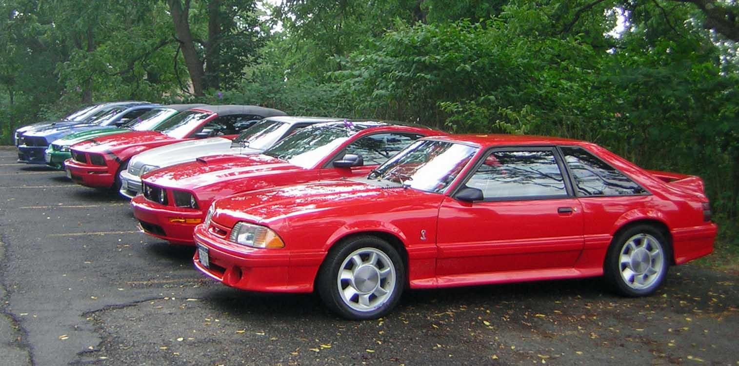 Bobs 1993 Mustang Cobra Twin Tiers Mustang Club