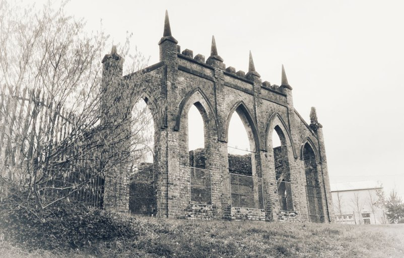 The Orangery at Heywood, as it stands today.