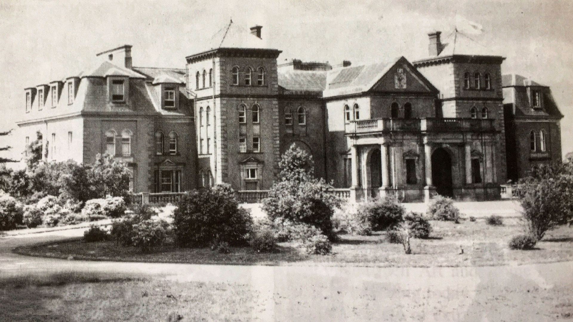 Heywood House Fire 1950