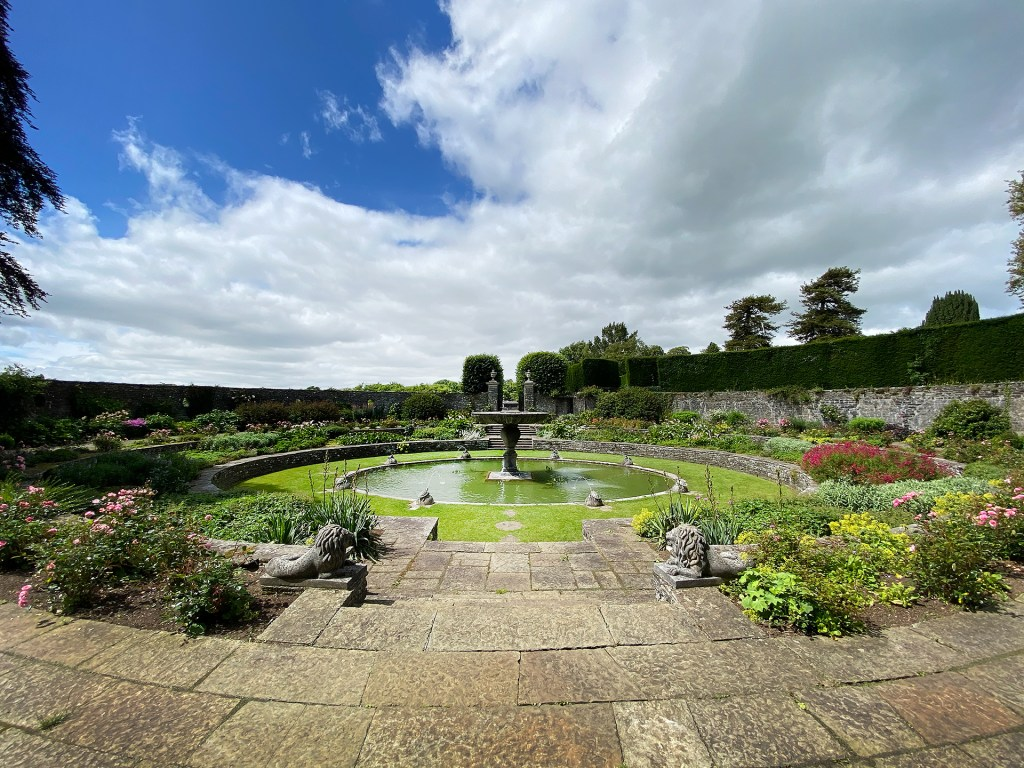 View from the Loggia at Heywood Gardens