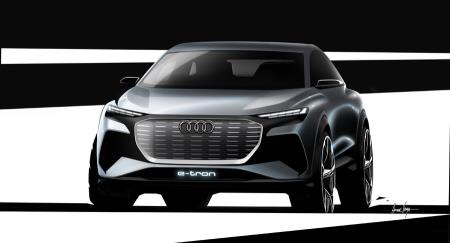 AUDI Q4 E-TRON CONCEPT SET FOR GENEVA SHOW DEBUT