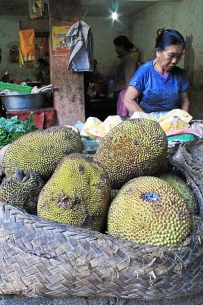 Jackfruit, Ubud market, Bali