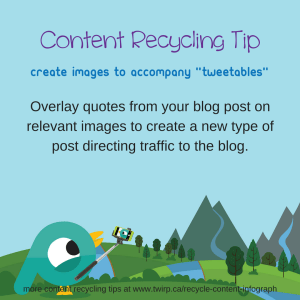 Content Recycling Tip 2