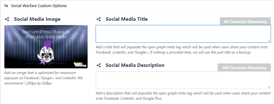 screen cap facebook metadata for link post