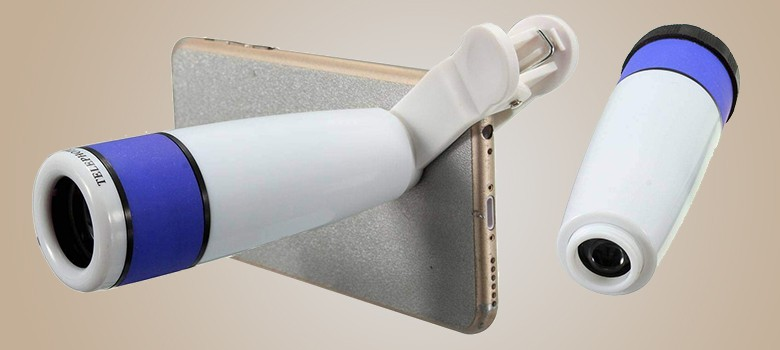Generic 12 X Telescope Mobile Camera Lens For Smartphone