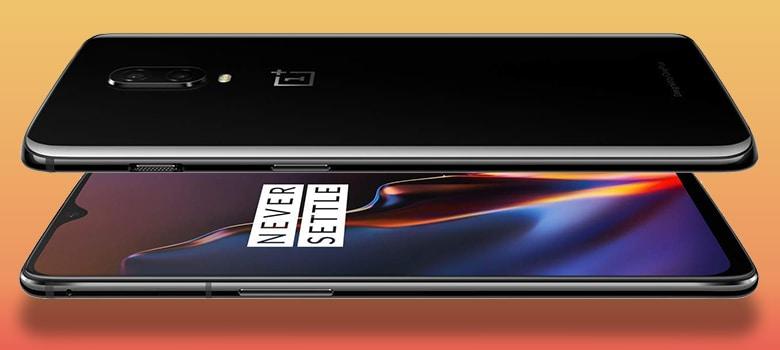One Plus 6 T Mobile Phone Design
